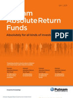 Putnam Absolute Return Funds Brochure