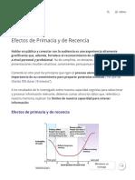 Efectos de Primacía y de Recencia _ Alfredo Herranz Sanz _ CLAPSIC Psicología.pdf