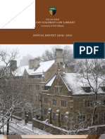 Yale Law Library Annual Report 2009-2010