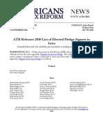 ATR Releases 2010 List for Iowa