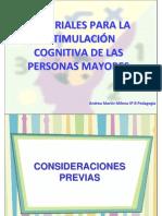 Estimulacion Cognitiva en Personas Mayores