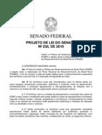 Projeto de Lei Do Senado N258 de 2010