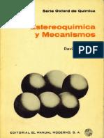Estereoquimica y Mecanismos