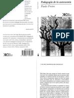 FREIRE. Pedagogía de la autonomía..pdf