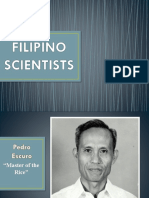 Scientists in The Philippines