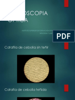 MICROSCOPIA OPTICA imagenes..pptx