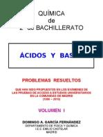 6.2 - ÁCIDOS Y BASES - PROBLEMAS RESUELTOS DE ACCESO A LA UNIVERSIDAD (I)