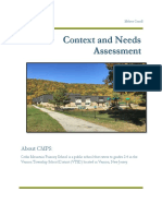 Carroll Melissa Context and Needs Assessment