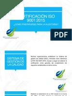 CERTIFICACIÓN ISO 9001_Como preparse.pps