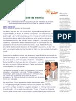 A realidade da Ciência_Problemas no mercado de trabalho.doc