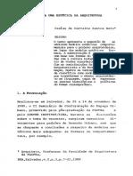 NETO, Isaías C S - Notas para uma estética da arquitetura.pdf