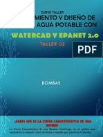 Modelamiento de Red Hidraulica Con Watercad
