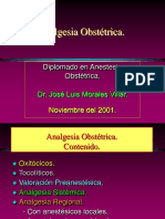 Analgesia Obstétrica 2