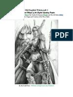 Old English Witchcraft 1 The Story Odin and Freyja (Dana)