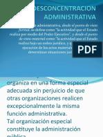 Desconcentracion Administrativa Claudia Noriega