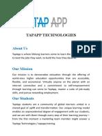 TAPAPP TECHNOLOGIES.doc