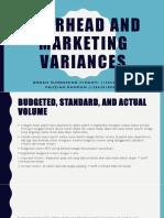 Decision Making Bab 13 Overhead Marketing Variance