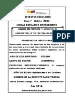 INFORME DE PROYECTO ESCOLAR 10mo. -.docx