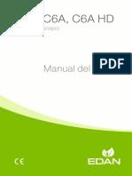 C3A, C6A, C6A HD Video Colposcope User Manual-Spanish-ES.pdf