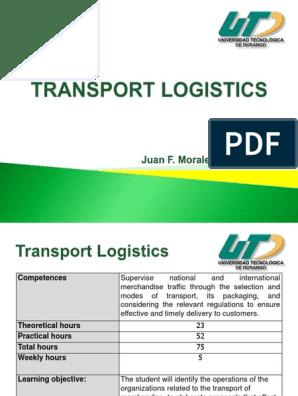 Transport Logistics 1u | Cargo | Logistics