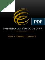Ingenieria Construccion Corp
