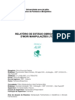 Relatorio Estagio Farmácia Manipulação