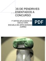 PRESENTACIÓN DISEÑOS DE PENDRIVES PRESENTADOS A CONCURSO