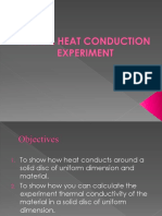 Radial Heat Conduction Experiment