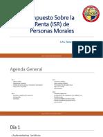 Presentación ISR Personas Morales Diplomado UNISON 2019.pptx
