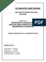 Report Structure Design