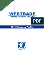 Westrade Company Profile (2016)