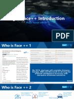 Megvii Face++ Introduction
