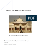 Sufi English Books of Mohammed Abdul Hafeez