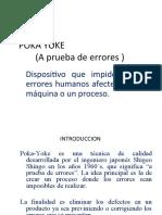 POKA YOKE (a Prueba de Errores )