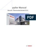 Supplier Manual 16-11 Bosch Thermotechniek b.v 1