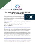 Laser Cutting Machines Market