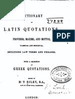 Slutty latin for specie