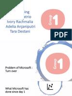 Group 1 - Microsoft