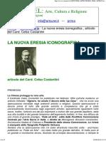 """Celso Costantini """"La nuova eresia iconografica"""""""