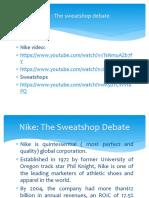 Nike the Sweatshop