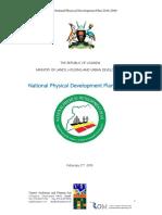 Uganda National Physical Development Plan 2018-2040