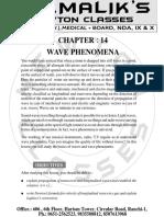 14. Wave Phenomena