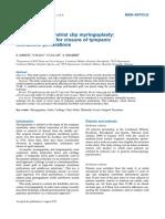 Chondroperichondrial Clip Myringoplasty