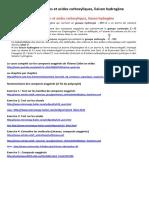 Alcools, Aldéhydes, Cétones Et Acides Carboxyliques, Liaison Hydrogène2