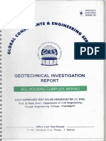 Geotech Investigation Report Housing