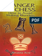 Amatzia Avni - Danger in Chess - How to Avoid Making Blunders (single pages)