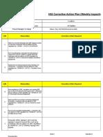 TMT90 - HSE Corrective Action Plan WICR 61