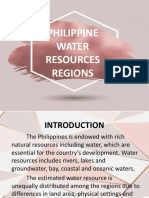 Philippine water resources regions
