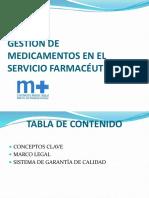 gestion del servicio farmaceutico