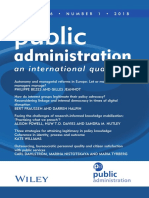 2018 Public Administration